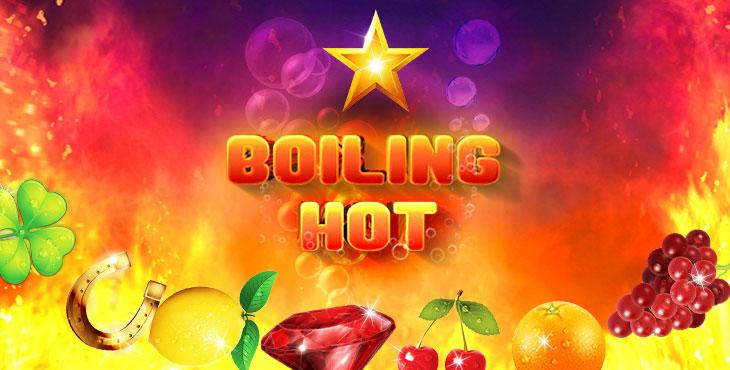 Boiling Hot Online slot goes LIVE !