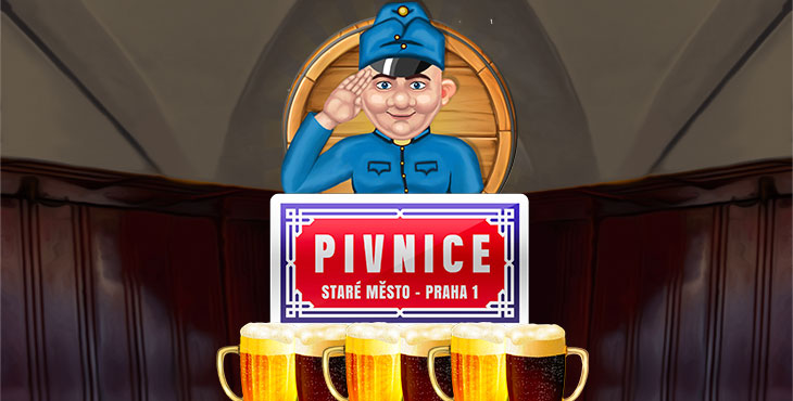 DRINKING TIME! Five Men Games introduces brand new slot, PIVNICE, CZECH PUB.