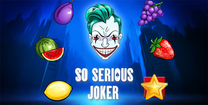Five Men Games is proudly introducing another fresh slot title, SO SERIOUS JOKER.