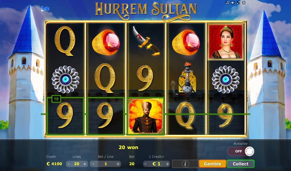 Hurrem Sultan ⋆ 5Men Games
