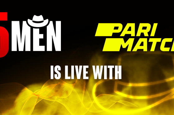 Five Men Gaming Partners with PariMatch